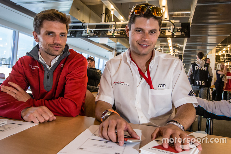 Phoenix Racing: Christian Mamerow та Audi Sport Team WRT: П'єр Каффер