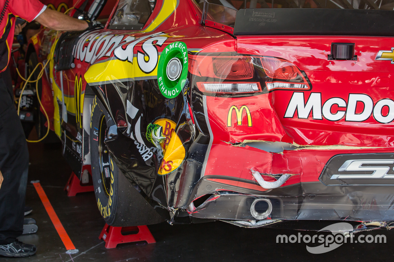 Kerusakan mobil Jamie McMurray, Chip Ganassi Racing Chevrolet