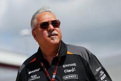 Виджай Малья, владелец команды Sahara Force India F1