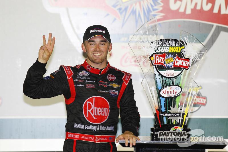 1. Austin Dillon, Richard Childress Racing, Chevrolet