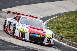 #4 Phoenix Racing Audi R8 LMS: Marc Basseng, Marcel Fässler, Mike Rockenfeller, Frank Stippler