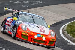 #71 Teichmann Racing Porsche 997 GT3 Cup: Jens Esser, Ercan Kara-Osman