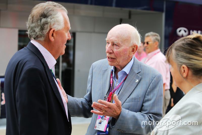 Rt Hon Peter Haim MP ve John Surtees