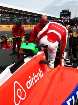 Will Stevens, Manor F1 Team no grid