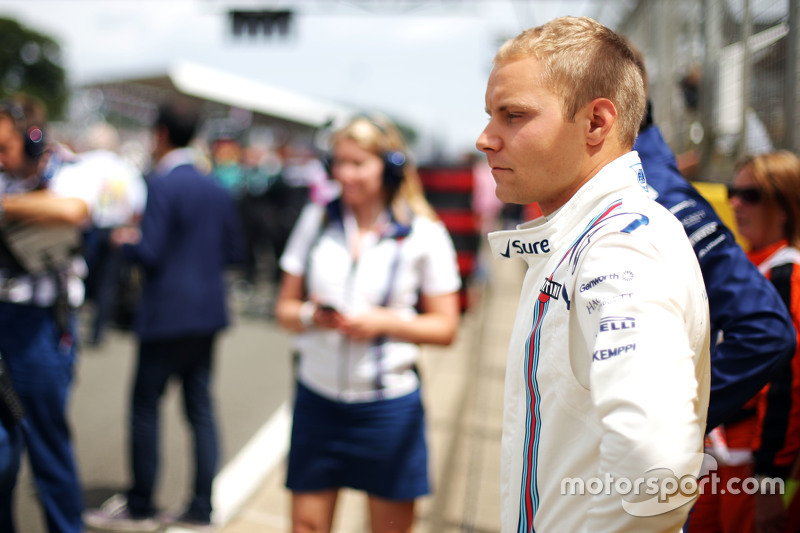 Valtteri Bottas, Williams di grid