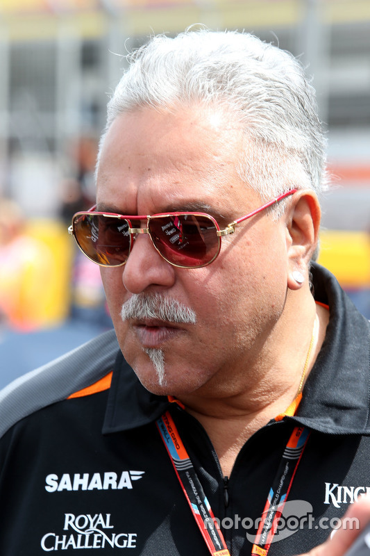 Vijay Mallya, Teambesitzer, Sahara Force India