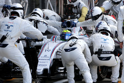 Felipe Massa, Williams F1 Team during pitstop