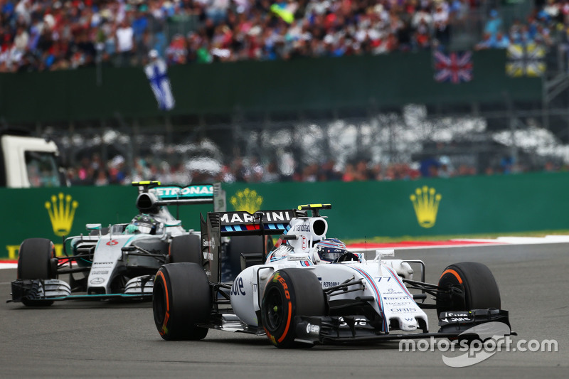 Valtteri Bottas, Williams FW37.