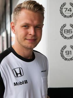 Кевин Магнусе, тестовый и резервный пилот McLaren