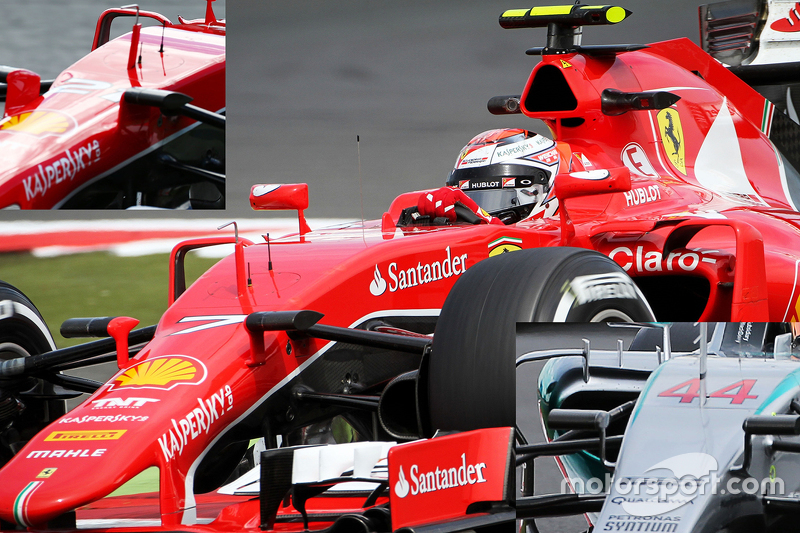Technical analysis: Ferrari camera mounts