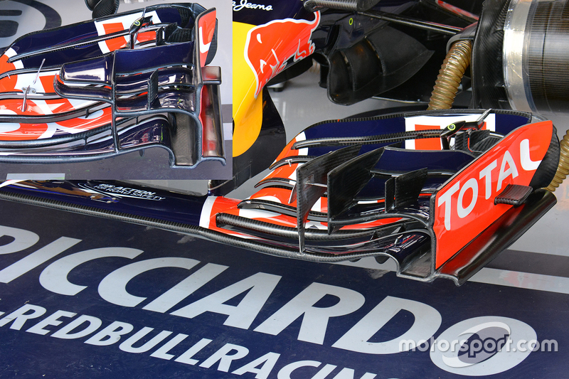 Analisis teknis: Red Bull front wing