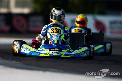 Aleksi Potter am Adria International Raceway