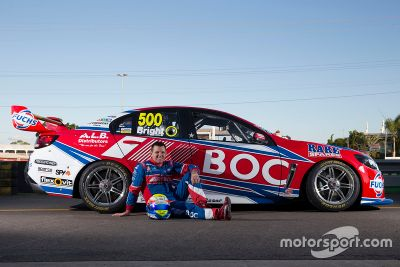 500th race livery for Jason Bright
