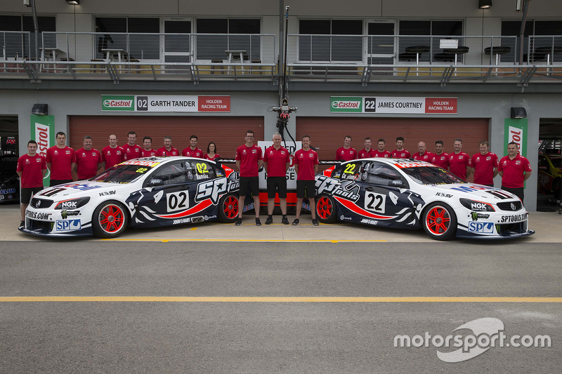 Holden Racing Team group photo shoot
