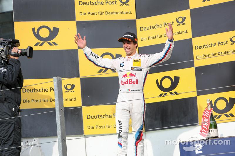 Peringkat kedua Antonio Felix da Costa, BMW Team Schnitzer BMW M4 DTM