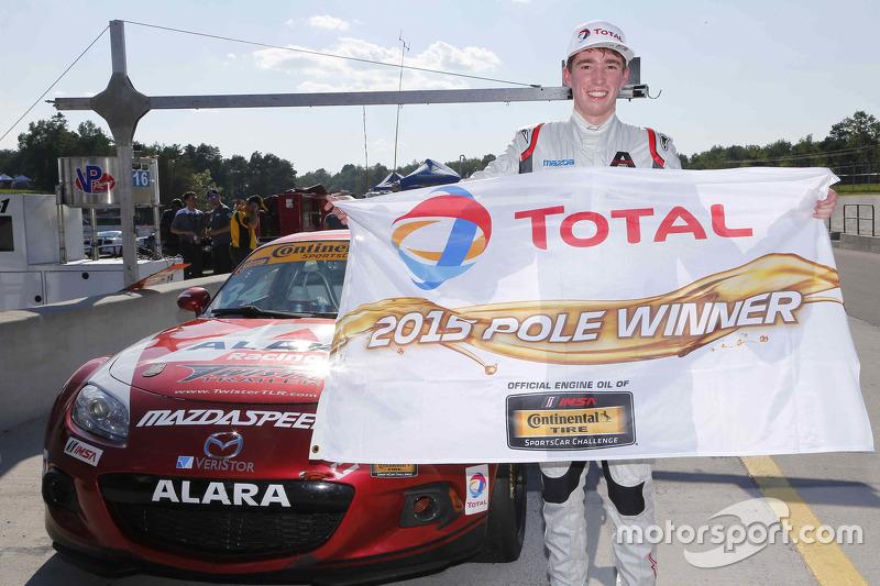 Polesitter #34 Alara Racing Mazda MX-5: Christian Szymczak, Justin Piscitell