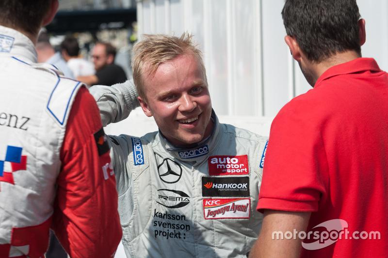 Race 2 Winner: Felix Rosenqvist, Prema Powerteam Dallara Mercedes-Benz