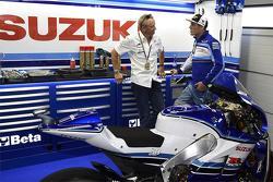 Кевін Штантц и Алекс Еспаграро, Team Suzuki MotoGP