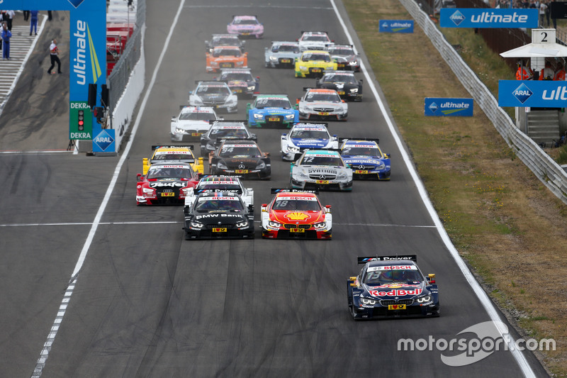 Start: Antonio Felix da Costa, BMW Team Schnitzer BMW M4 DTM memimpin