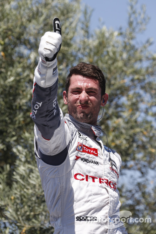 Race winner Jose Maria Lopez, Citroën C-Elysée WTCC, Citroën World Touring Car team