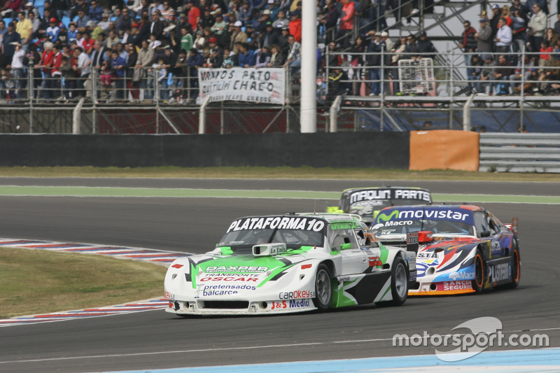 Santiago Mangoni, Laboritto Jrs Torino and Christian Lede sma, Jet Racing Chevrolet and Mauro Giallombardo, Maquin Parts Racing Ford