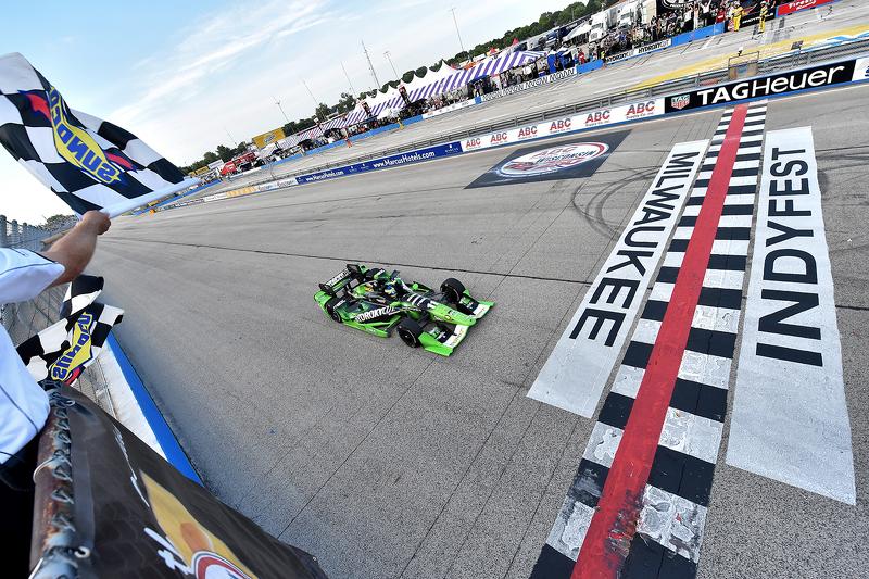 Sébastien Bourdais, KV Racing Technology Chevrolet merebut kemenangan