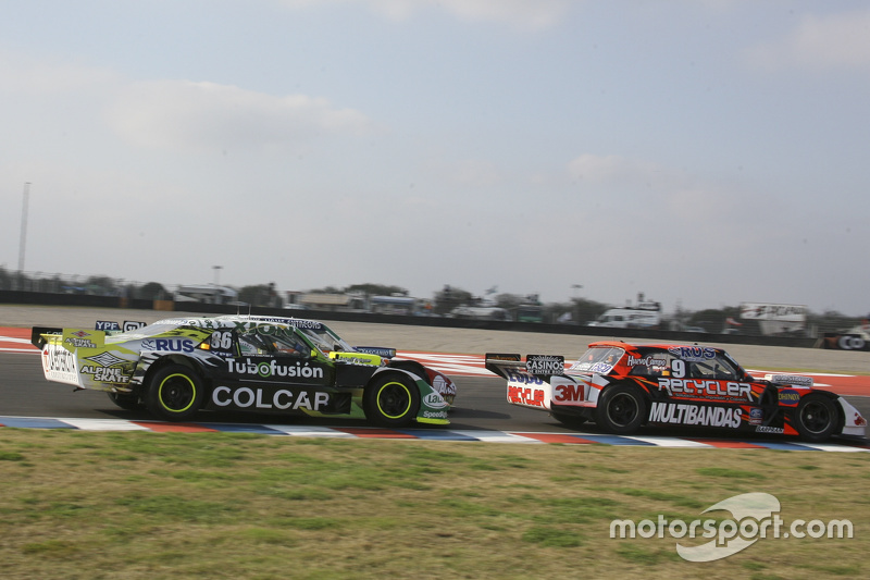 Mariano Werner, Werner Competicion Ford, dan Agustin Canapino, Jet Racing Chevrolet