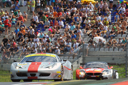 AF Corse车队62号法拉利F458 Italia GT3: Thomas Flohr, Stuart Hall, Francesco Castellacci