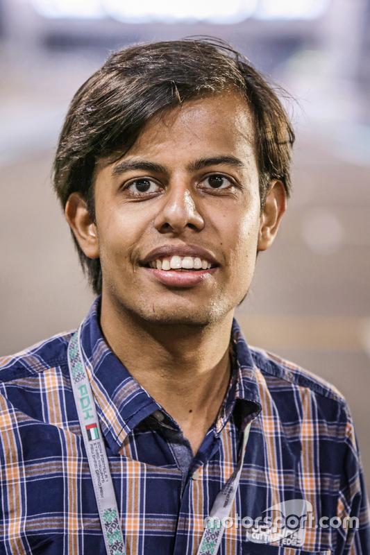 Darshan Chokhani, editor-chefe do Motorsport.com Índia