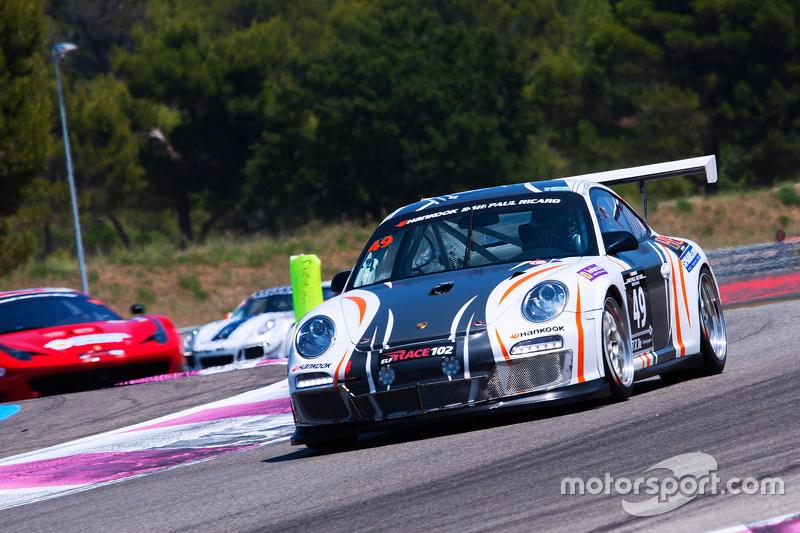 #49 Le Duigou Racing Porsche 997 Cup: Bruno Tortora, Tiziano Carugati, Franck Metzger, Carlos Sarrea
