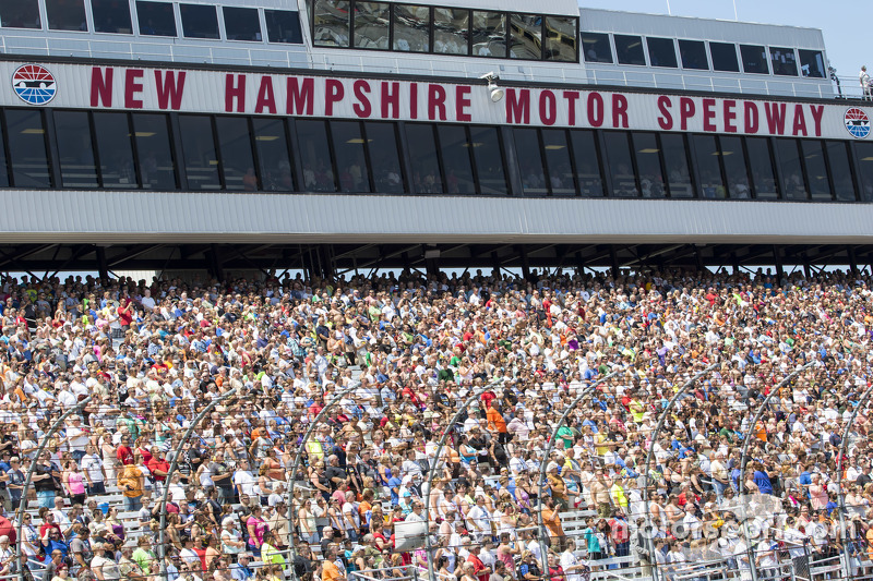 Fans at New Hampshire Motor Speedway