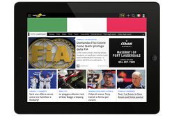 Motorsport.com Italien, Screenshot