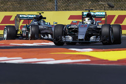 Lewis Hamilton and Nico Rosberg, Mercedes AMG F1 Team
