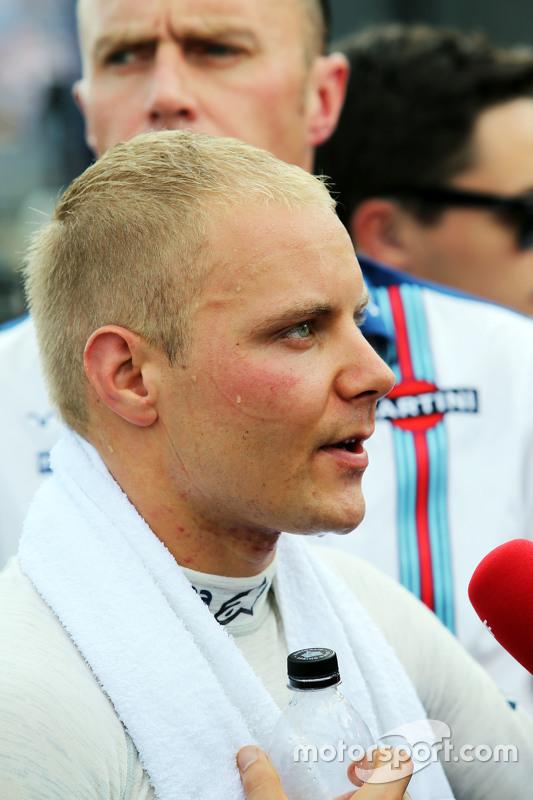 Valtteri Bottas, Williams met de media