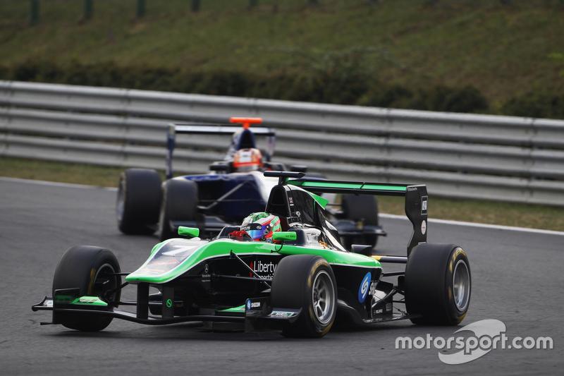 Seb Morris, Status Grand Prix memimpin Mitch Gilbert AUS, Carlin