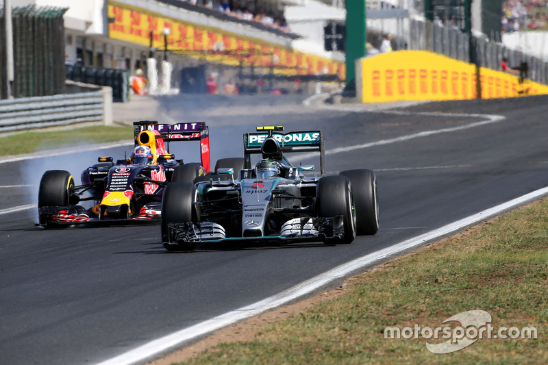 Ніко Росберг, Mercedes AMG F1 Team та Даніель Ріккіардо, Red Bull Racing