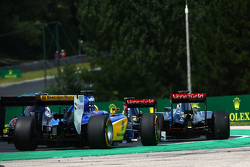 Marcus Ericsson, Sauber C34 al inicio de la carrera