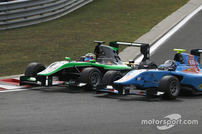 Seb Morris, Status Grand Prix, dan Matheo Tuscher, Jenzer Motorsport