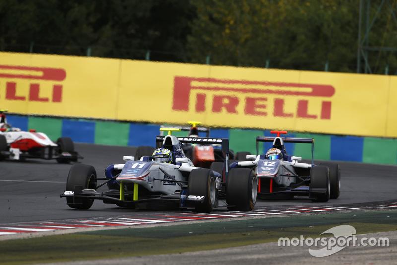 Jimmy Eriksson, Koiranen GP leads Matthew Parr, Koiranen GP