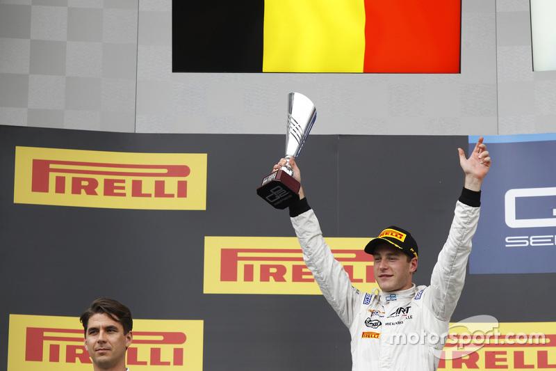Peringkat kedua Stoffel Vandoorne, ART Grand Prix