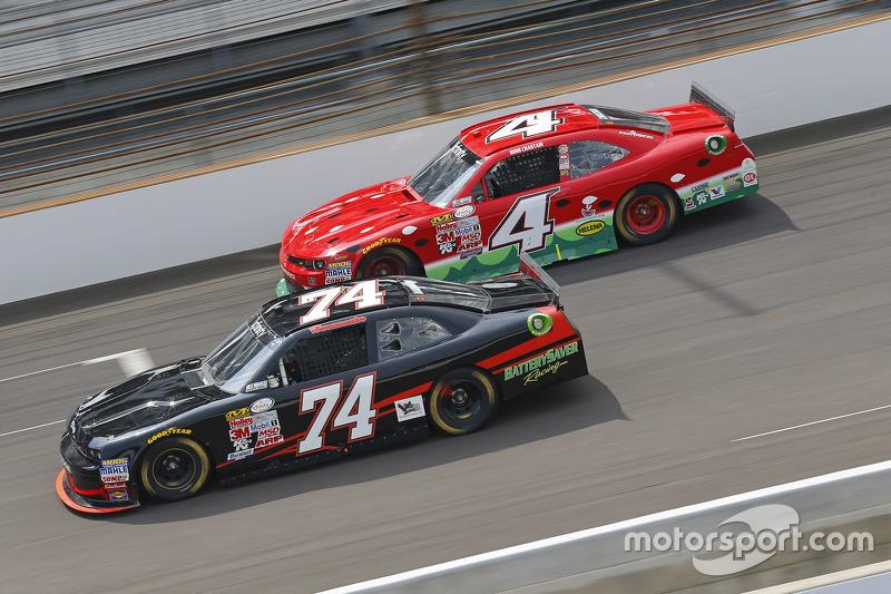 Mike Harmon ve Ross Chastain, JD Motorsports Chevrolet