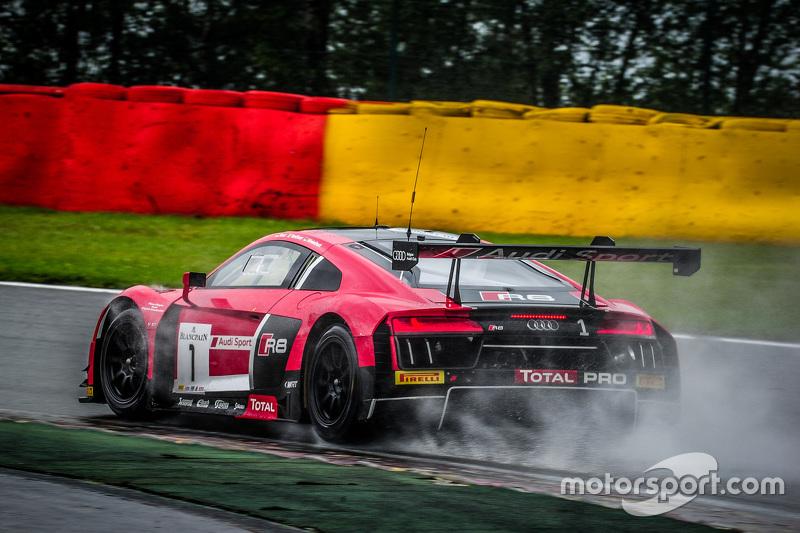 #1 Belgian Audi Club Team WRT Audi R8 LMS: Laurens Vanthoor, René Rast, Markus Winkelhock