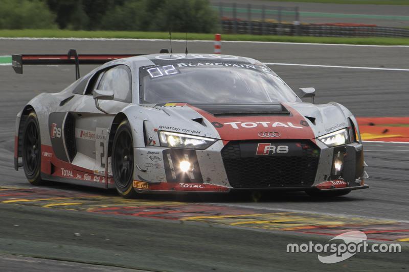 #2 Belgian Audi Club Team WRT Audi R8 LMS: Frank Stippler, Stéphane Ortelli, Nico Müller