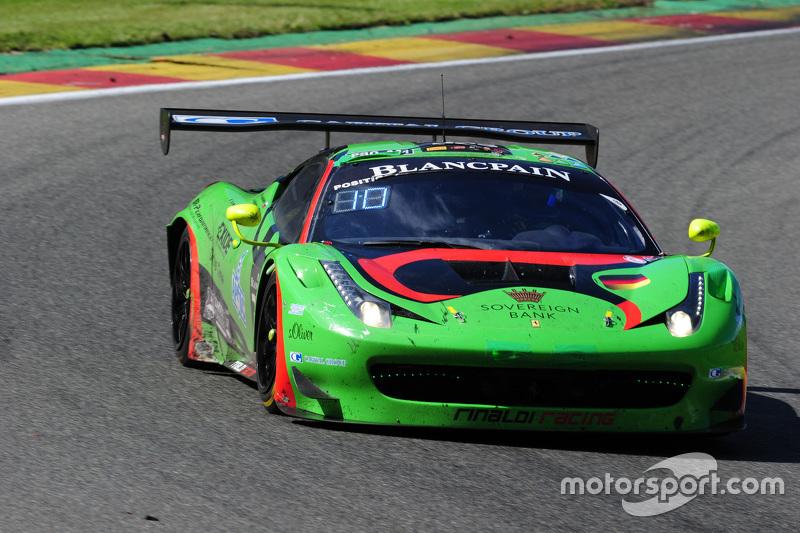 #333 Rinaldi Racing Ferrari 458 Italia: Marco Seefried, Norbert Siedler, Stephan van Campenhoudt, Rinat Salikhov