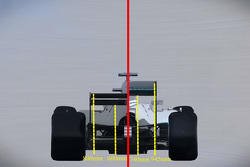 2017 F1 car comparison with current 2015 car