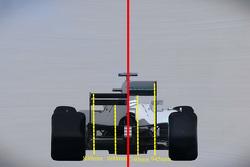 Vergleich: Formel-1-Auto 2017 und Formel-1-Auto 2015