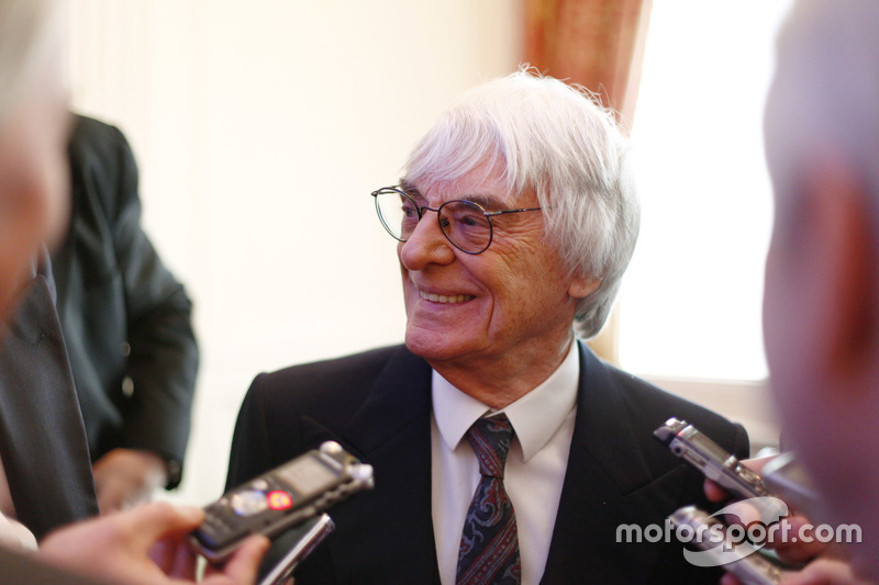 Bernie Ecclestone, CEO, Formula One group