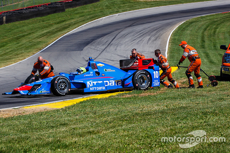 Tony Kanaan, Chip Ganassi Racing Chevrolet dalam masalah