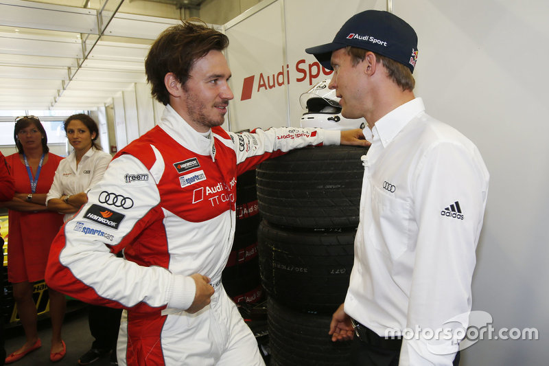 Mattias Ekström, Audi Sport Team Abt Sportsline, Audi A5 DTM, dan Felix Neureuther