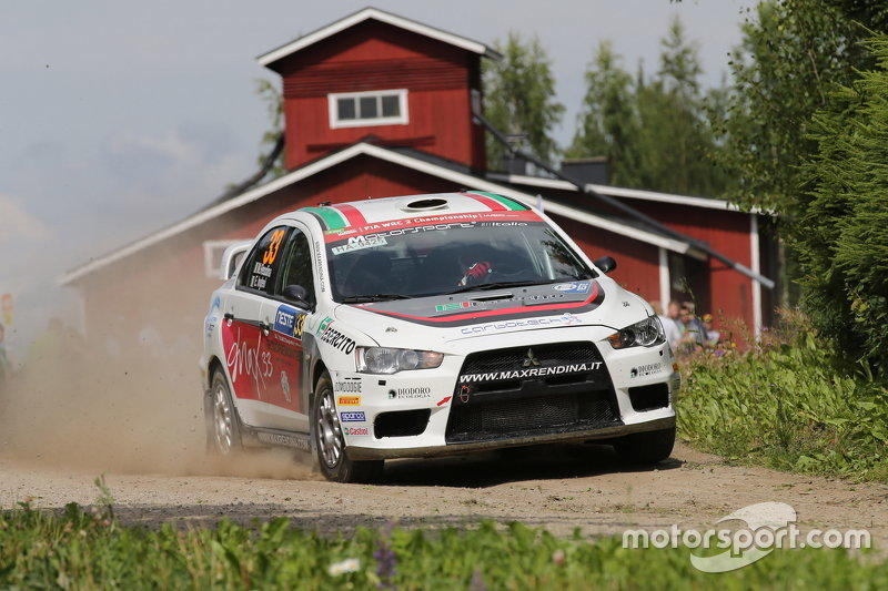 Massimiliano Rendina та Emanuele Inglesi, Mitsubishi Lancer Evo X